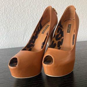 Louis Vuitton Peep Toe Heels